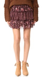 Ulla Johnson Orion Skirt Plum