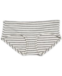 Motherhood Maternity Hipster Briefs Grey White Stripe