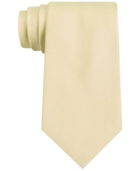 Club Room Spartan Solid Tie Yellow