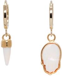 Isabel Marant Gold Its All Right Earrings