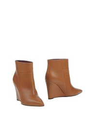 Lerre Ankle Boots Brown