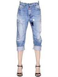 Dsquared Big Brother Fit Destroyed Denim Jeans