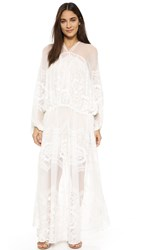 Free People Bohemian Winds Maxi Dress Ivory