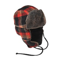 Stetson Clovis Plaid Trapper Hat