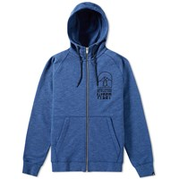 Nike Legacy Graphic Zip Hoody Blue