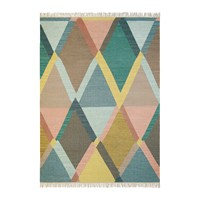 Brink And Campman Kashba Jewel Rug 140X200cm Blue Multi
