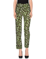 April May Trousers Casual Trousers Women Acid Green