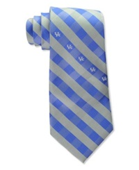 Eagles Wings Kentucky Wildcats Checked Tie Team Color