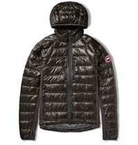 Canada Goose Hybridge Lite Quilted Shell Jacket Gray