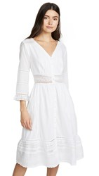 Velvet Angi Dress White