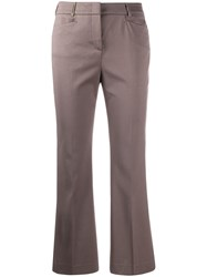 Peserico Flared Cropped Tailored Trousers 60