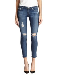 Ag Jeans Distressed Legging Ankle Jeans 11 Years Swapmeet