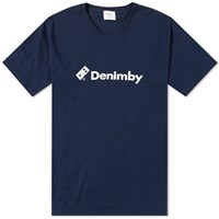 Denim By Vanquish And Fragment Domino Logo Tee Blue
