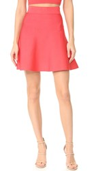 Cushnie Et Ochs Mini Circle Skirt Strawberry