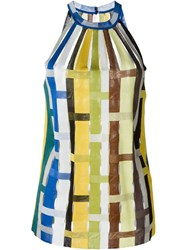 Missoni Sleeveless Woven Top Multicolour