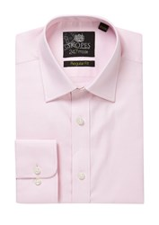 Skopes Men's 24 7 Mode Collection Formal Shirt Pink
