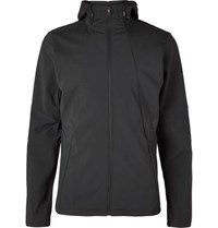 Under Armour Storm Cyclone Slim Fit Stretch Shell Hooded Jacket Black
