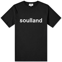 Soulland Logic Logo Tee Black