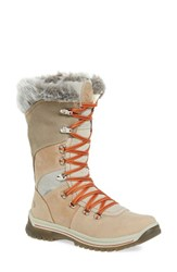 Santana Canada Women's 'Morella' Water Resistant Faux Fur Boot Ice Leather
