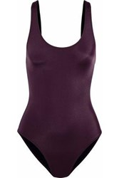 Solid And Striped The Anne Marie Swimsuit Plum