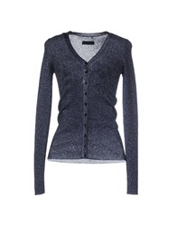 Dandg Knitwear Cardigans Women Dark Blue