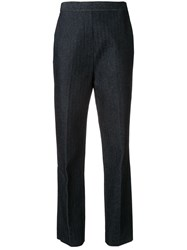 Camilla And Marc High Waisted Trousers Blue