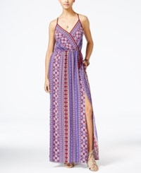 American Rag Printed Maxi Dress Only At Macy's Zinfandel