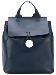 Corto Moltedo 'Rose' Backpack Women Nappa Leather Suede One Size Blue