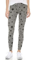 Sundry Classic Stars Skinny Sweatpants Heather Grey