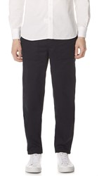 Maison Kitsune Worker Pants Black