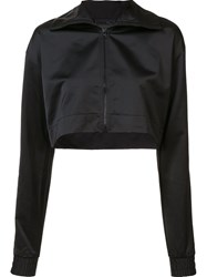 Puma Cropped Track Jacket Black