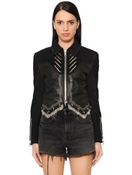 Alexander Wang Western Suede And Leather Jacket