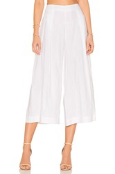Kendall Kylie Shadow Stripe Pant White