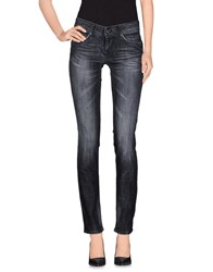 Pepe Jeans Denim Denim Trousers Women Steel Grey