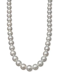 Belle De Mer White Cultured South Sea Pearl 10Mm Collar Necklace