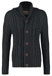 Petrol Industries Cardigan Black Navy Dark Blue