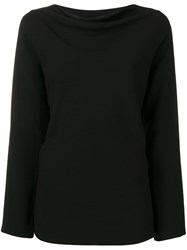 Theory Longsleeved Blouse Black
