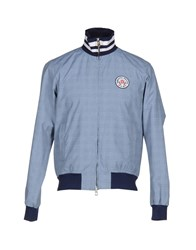 Cooperativa Pescatori Posillipo Coats And Jackets Jackets Men Blue