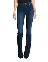 7 For All Mankind Original Bootcut Dark Wash Jeans Slim Illusion Luxe Luminous