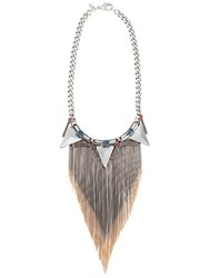 Iosselliani Swarovski Crystals Tribal Deco Necklace