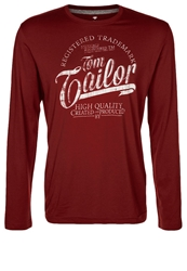 Tom Tailor Long Sleeved Top Coach Red