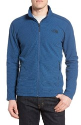 The North Face Men's Cap Rock Fleece Jacket Shady Blue Texture