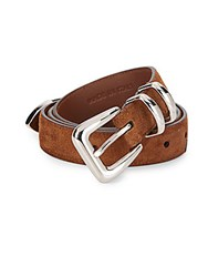 Brunello Cucinelli Suede Belt Bark