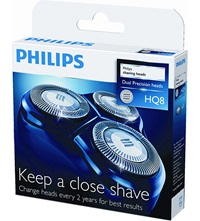 Philips Sensotec Dual Precision Shaver Head Pack Of 3