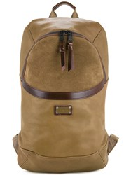 As2ov Leather Combination Day Pack Brown