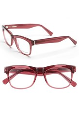 Women's Derek Lam 51Mm Optical Glasses Dark Pink