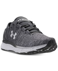 Under Armour Women's Charged Bandit 3 Running Sneakers From Finish Line Steel Stealth Gray Blue