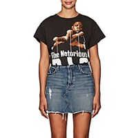Madeworn The Notorious B.I.G. Distressed Cotton T Shirt Black