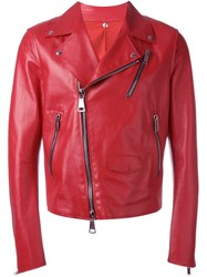 Cnc Costume National Costume National Biker Jacket Red