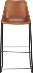 Cb2 Roadhouse Leather 30'' Bar Stool